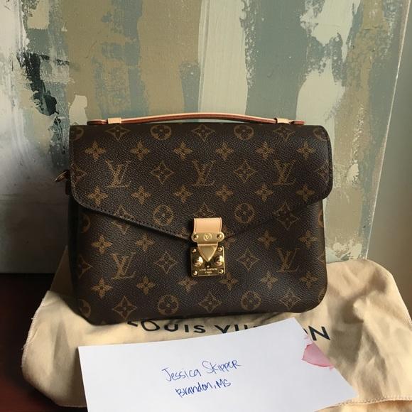 1b2420397d Louis Vuitton Bags   Pochette Metis Monogram New   Poshmark